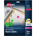 Avery High Visibility Label AVE5994