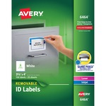 Avery Removable Label AVE6464