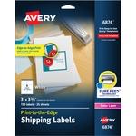 "Etiqueta de envío Avery - 3"" Ancho x 3,75"" Longitud - 150 / Paquete AVE6874"