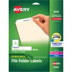 Avery Removable Filing Labels AVE8066