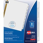 Avery WorkSaver Big Tab Insertable Tab Divider AVE11124