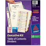 Avery ReadyIndex Executive Index Divider Kits AVE11278