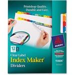 Avery Index Maker Multicolor Label Divider AVE11404