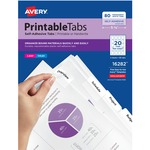 Avery Printable Self-Adhesive Tab AVE16282