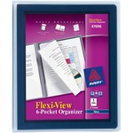 Avery Flexi-View 6-Pocket Organizer AVE47696