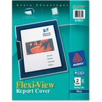 Avery Flexi-View Presentation Report Cover with Swing Clip AVE47851