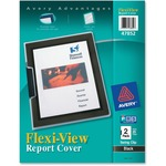 Avery Flexi-View Presentation Report Cover with Swing Clip AVE47852