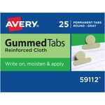 Avery Gummed Round Index Tab AVE59112