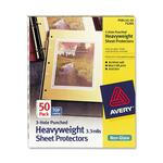 Avery 3-Hole Punched Heavyweight Sheet Protector AVE74204