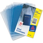 Avery Top Thumb Notch Vinyl Envelopes AVE74806