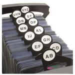 Advantus Media Filer Index Tabs AVT61907