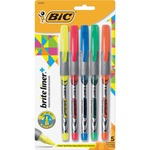 BIC Z4 Brite Liner Liquid Highlighter BICB4P51ASST