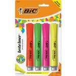 BIC Brite Liner Grip XL Highlighter BICBLMGP41ASST