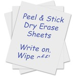 C-line Self-Stick Dry-Erase Sheet CLI57724