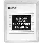 C-Line Vinyl Shop Seal Ticket Holder CLI80912