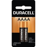 Duracell AAAA Size Alkaline General Purpose Battery DURMX2500B2PK