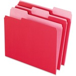 Pendaflex Two-Tone Color File Folder ESS15213RED