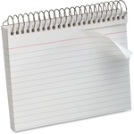 "Oxford Spiral-Bound 5"" x 8"" Index Cards OXF40284"