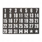 Magna Visual Magnetic Calendar Dates Indicators MAVFH37
