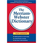 Merriam-Webster Paperback DictionaryDictionary Printed Book - English MER636