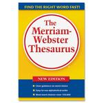 Merriam-Webster Paperback ThesaurusDictionary Printed Book MER637