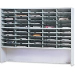 Mayline Kwik-File Mailflow-To-Go 2-Tier Sorter MLNSR6046RPG
