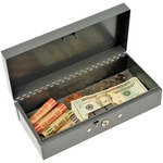MMF Steelmaster Cash Box with Lock MMF2212CBGY