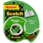 Scotch Magic Tape with Handheld Dispenser MMM104