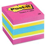 Post-it Notes Cube in Ultra Colors MMM2051FLT