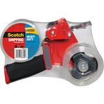 Scotch Super Strength Packaging Tape with Handheld Dispenser MMM38502ST-BULK