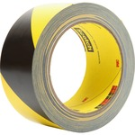 3M Scotch Diagonal Stripe Safety Tape MMM57022
