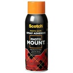 Scotch Photo Mount Spray Adhesive MMM6094