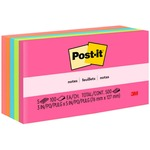 Post-it Notes in Neon Colors MMM6555PK