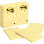 Post-it Ruled Adhesive Note MMM660YW