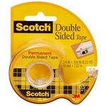 Scotch Double Sided Tape with Handheld Dispenser MMM667