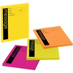 Post-it Neon Important Message Pad MMM76794