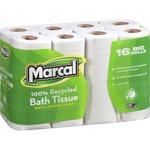 Marcal Small Steps Recycled Premium Bath Tissue MRC16466PK