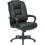 Office Star EX5162 Deluxe High Back Executive Leather Chair OSPEX5162G13
