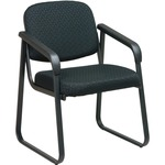Office Star V4410 Deluxe Sled Base Arm Chair OSPV441080