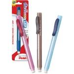Pentel Clic Eraser Retractable Pen-Shaped Eraser PENZE21BPK6