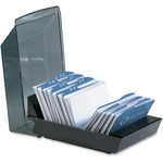 Rolodex Covered Business Card File ROL67208