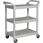 Rubbermaid 3-Shelf Utility Service Cart RCP342488PM