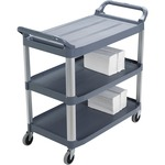 Rubbermaid 3-Shelf Mobile Utility Cart RCP409100