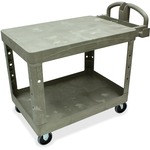 "Rubbermaid 26"" Flat Shelf Utility Cart RCP452500BG"
