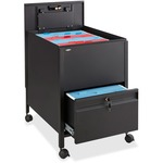 Safco Rollaway Mobile File Cart SAF5365BL