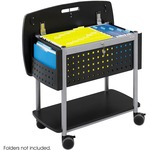 Safco Scoot Mobile File Cart SAF5370BL