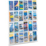 Safco 24 Pamphlet Pockets Display Rack SAF5601CL