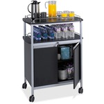 Safco Mobile Beverage Cart SAF8964BL