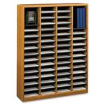 Safco E-Z Stor Light Wood Literature Organizer SAF9331MO