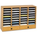 Safco 32 Compartments Adjustable Literature Organizer SAF9494MO